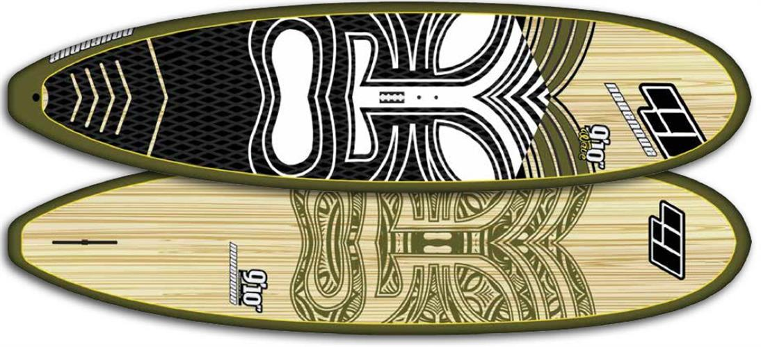 """CSE  9'10""""  WOOD CLEAR Wave / Allround"""