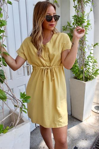 שמלת אולי צהובה