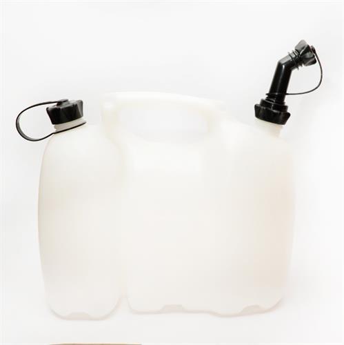 מיכל דלק / שמן שקוף 5 ליטר