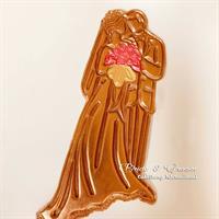 תבנית חתן וכלה - ליצירה בשוקולד