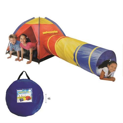 אוהל ומנהרה במנשא בד
