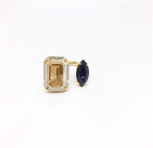 טבעת ג'יזל זהב