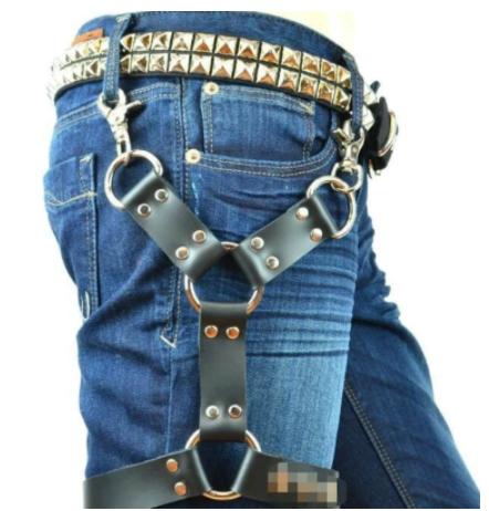 רתמה גברים לרגל לבוש BDSM