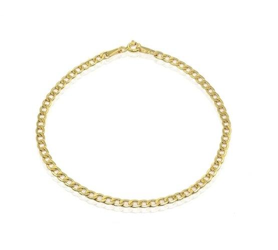 צמיד זהב חוליות עדין ויפהפה