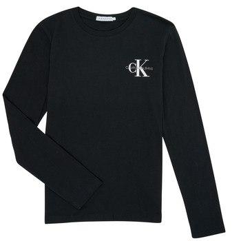 טישירט CK לוגו קטן שחור