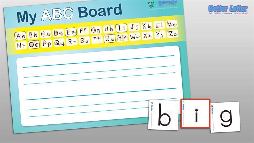 Better Letter ללימוד ABC | ערכת תלמיד