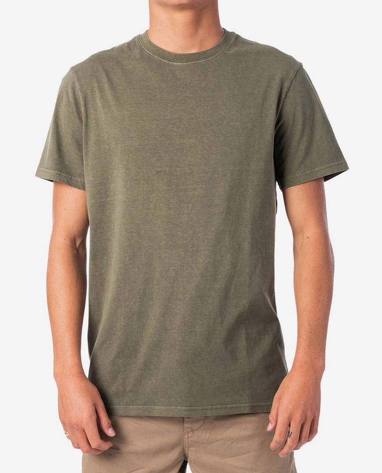 RIP CURL PLAIN WASH TEE