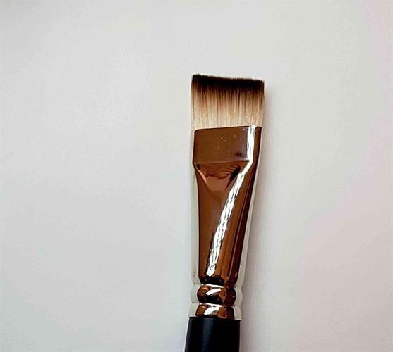 שטוח מלוכסן ג'ון  1/2 אינץ  brush