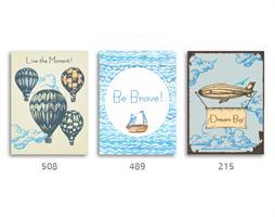 סט של 3 תמונות השראה מעוצבות לתינוקות, לסלון, חדר שינה, מטבח, ילדים - תמונות השראה 011