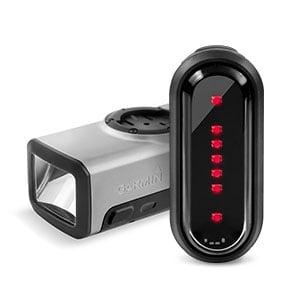 תאורת אופניים חכמה Garmin VARIA - פנס קידמי + אחורי