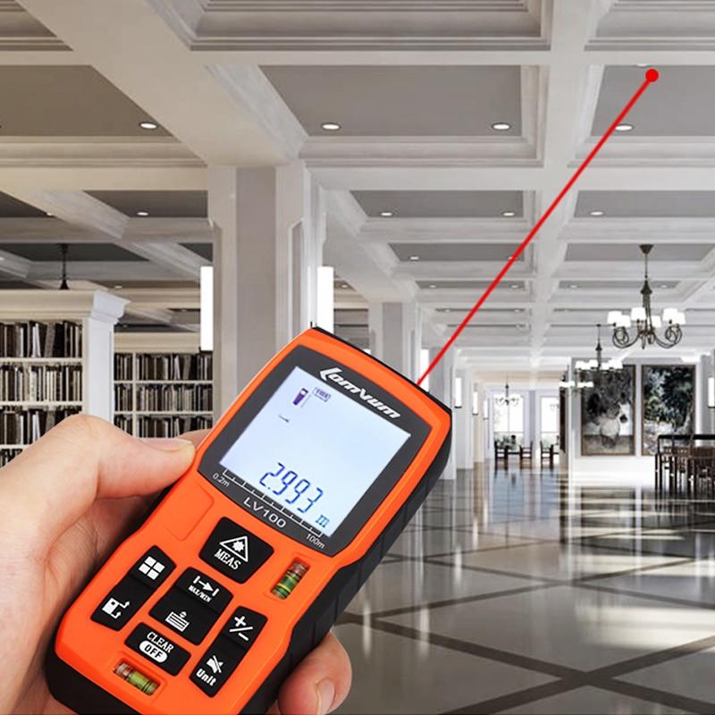 מד מקצועי למדידת בתים עד 40 מטר-lomvum