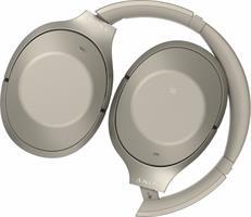 אוזניות אלחוטיות Sony MDR-1000X Bluetooth  אוזניות דינמיות, מרופדות לבידוד איכותי מרעש חיצוני.