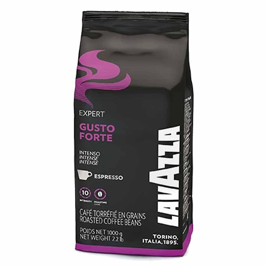 פולי קפה Lavazza coffee beans gusto forte 1kg
