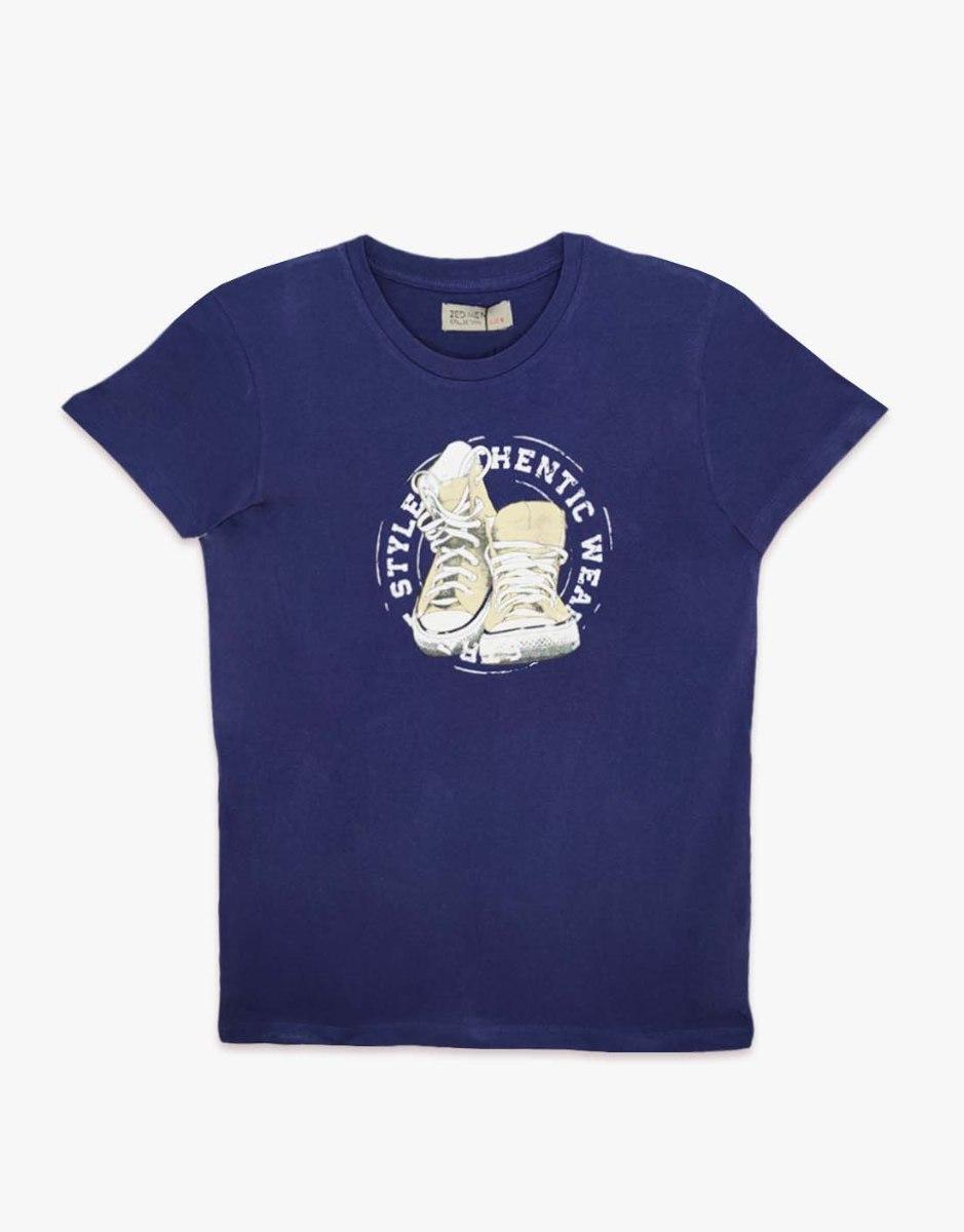חולצת טריקו גברים מודפס SHOES