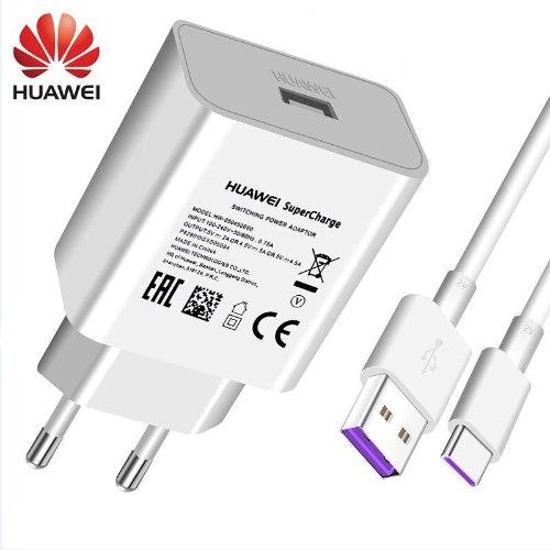 Huawei מטען קיר מהיר USB + כבל טעינה