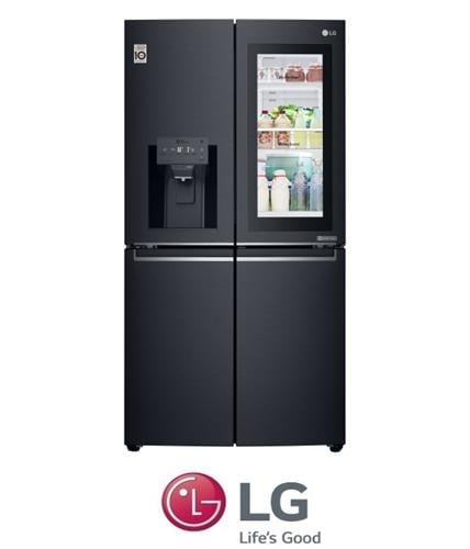 LG מקרר 4 דלתות InstaView Door in Door דגם GRX910INS