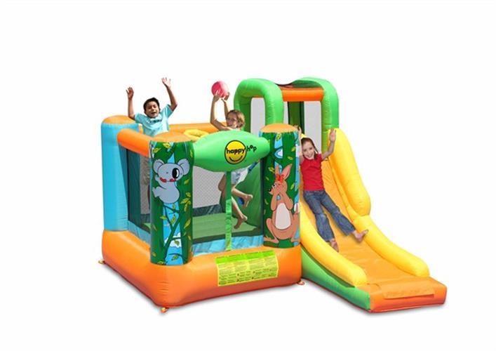 מתקן קפיצה טירת הג'ונגל הפי הופ - 9171  Jungle Jumping Castle Happy Hop
