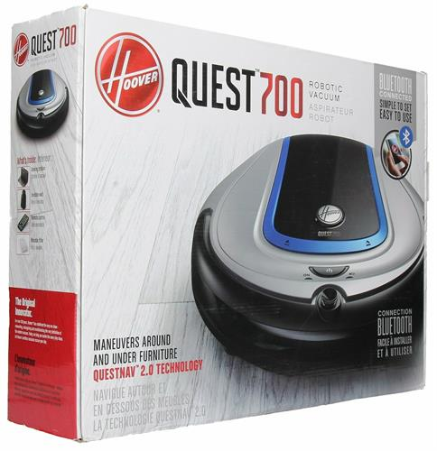 Hoover Quest 700 Bluetooth Connected Robotic Vacuum Cleaner BH70700 NIB