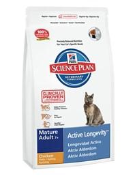 """הילס Science Plan לחתולים מבוגרים 7+ (עוף) 1.5 ק""""ג"""