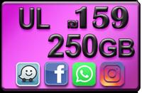 """טוקמן 159 ש""""ח חבילת של 5,000 דקות+5,000 והודעות לכל הרשתות בארץ וגלישה 250 GB גיגה בייט ₪159"""