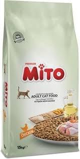 """אוכל לחתולים מיטו 15 ק""""ג עוף - MITO CHICKEN 15KG"""