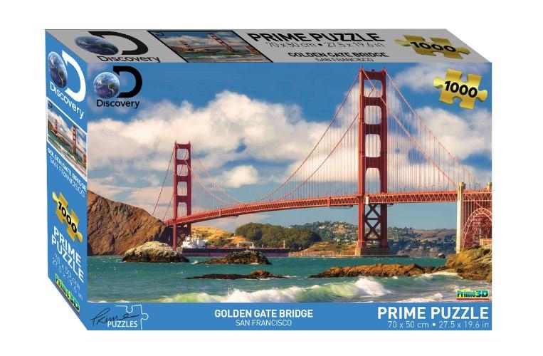 פאזל 1000 גשר הגולדן גייט סן פרנסיסקו