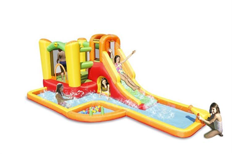 מתקן קפיצה ומים פארק המים הפי הופ - 9281 - Water Park Play Center Happy Hop