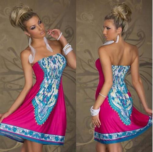 שמלה קלילה אופנתית וסקסית
