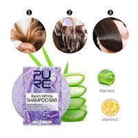 שמפו מוצק אורגני לשיער יבש ופגום