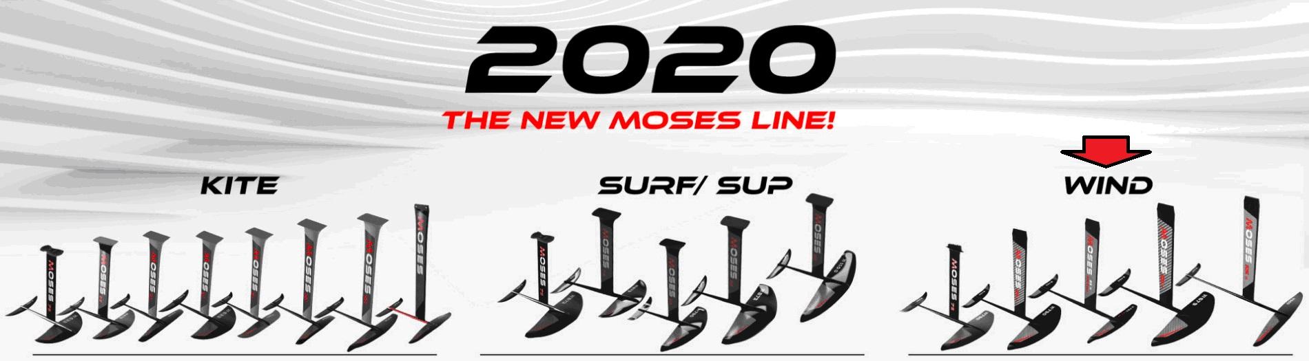 פויל לרוח Moses -   North Wind sea sports