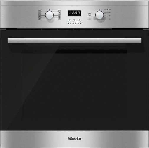 תנור אפיה בנוי 60 סמ מבית MIELE מילה דגם H2661-1 B black