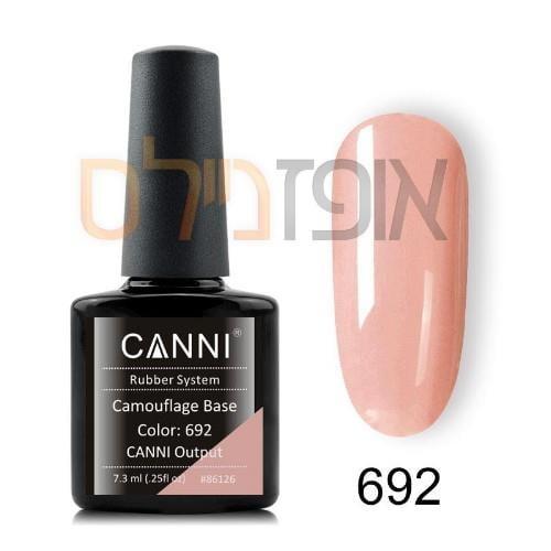 ג'ל בסיס גומי גוון קאני  692 CANNI