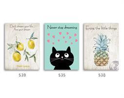 סט של 3 תמונות השראה מעוצבות לתינוקות, לסלון, חדר שינה, מטבח, ילדים - תמונות השראה  034