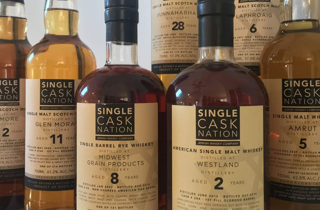 טעימת מבקבק עצמאי Single-Cask Nation | יום שני 24/6, 20:00, מזקקת מילק & האני