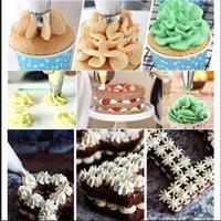 סט צנטרים לזילוף מושלם קישוט עוגה בקלות