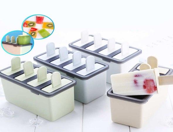 תבנית סיליקון ייחודית להכנת ארטיקים וקינוחים