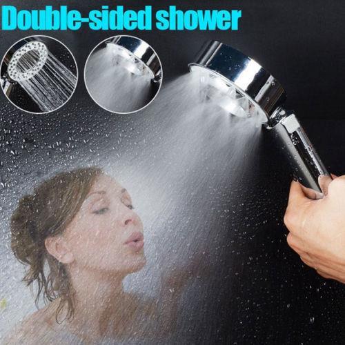 ראש מקלחת עוצמתי עם מקום לסבון
