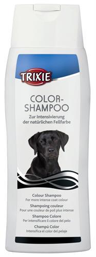 """שמפו לכלבים בעלי פרווה שחורה TRIXIE 250 מ""""ל"""