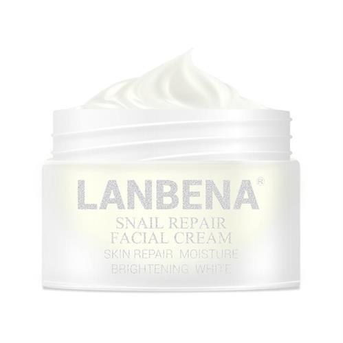 LANBENA קרם שיקום עור הפנים נוסחת החילזון