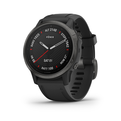 שעון דופק Garmin Fenix 6s Sapphire Carbon