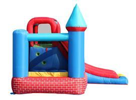 מתקן קפיצה טירת הלבנים האדומות הפי הופ - 9007 - Red Bricks Castle Happy Hop