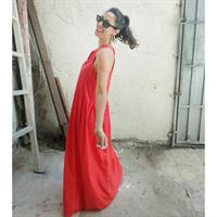 שמלת נינה אדום