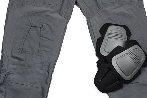 מכנס מדי לחימה טקטי G3 צבע אפור כהה  Wolf Grey  עם סט ברכיות נשלפות