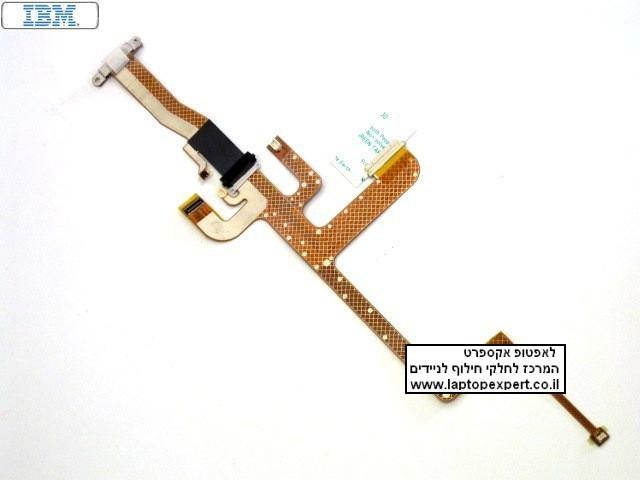כבל מסך מקורי למחשב נייד י.ב.מ IBM THINKPAD X60S X61S LCD CABLE video 91P4536 original 60.4B419.001