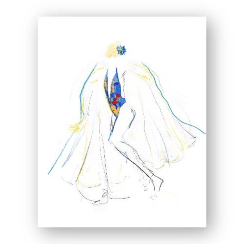 איור אופנה #2