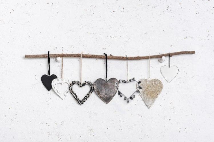 ענף של 7 לבבות וזוג פינבורד