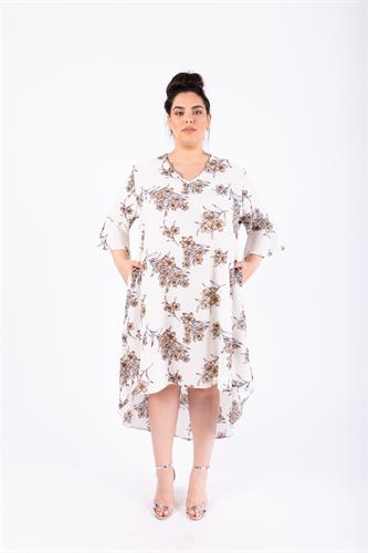 שמלת ג'וי לבנה