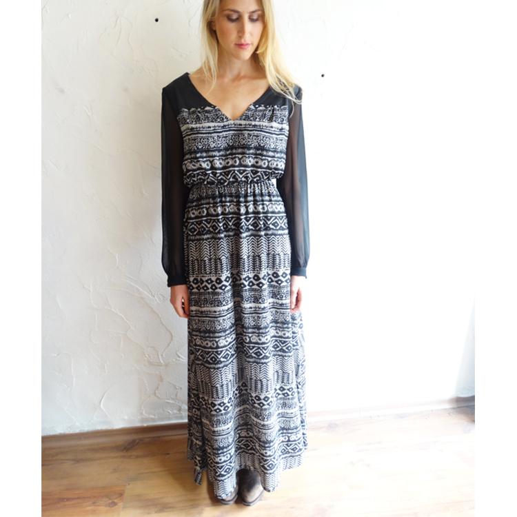 שמלת שרה מודפסת