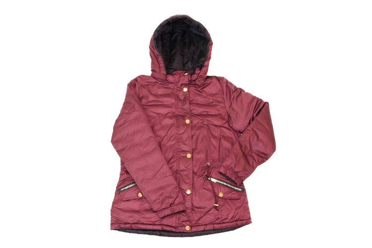 מעיל ניילון דו צדדי נשים