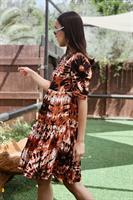 שמלת טאי דאי אוברסייז